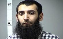 Nghi phạm khủng bố ISHabibullaevic Saipov. Ảnh: New York Times.