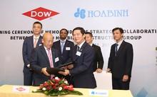 Hòa Bình và Dow Chemical ký kết hợp tác chiến lược