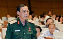 Thiếu tướng Nguyễn Minh Hoàng cho rằng, quân đội làm kinh tế là gánh vác nhiệm vụ chính trị xã hội. Ảnh: QH