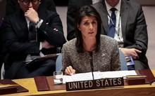 Đại sứ Mỹ tại Liên Hợp QuốcNikki Haley. Ảnh: AFP