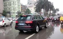 Xe Audi phục vụ APEC tại Hà Nội. Ảnh: Tuấn Nguyễn