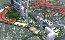 Phối cảnh tổng thể phân khu đô thị S3 Hà Nội.