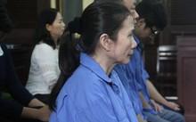 Bị cáo Nguyễn Hoàng Oanh, nguyên giám đốc ngân hàng Agribank chi nhánh Bến Thành tham ô hàng chục tỉ đồng.
