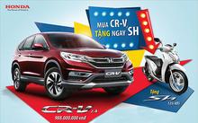 Đừng có mơ mua Honda CR-V với giá thấp kỷ lục.