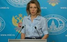 Bà Maria Zakharova, người phát ngôn Bộ Ngoại giao Nga. Ảnh: GETTY