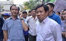 Ông Đoàn Ngọc Hải - Phó Chủ tịch UBND quận 1 trong một lần ra quân lập lại trật tự vỉa hè.