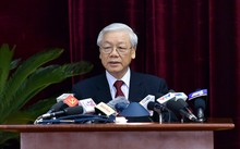 Tổng Bí thư Nguyễn Phú Trọng phát biểu khai mạc Hội nghị Trung ương 6