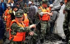 Lở đất chôn vùi 120 người ở Trung Quốc: Mới tìm thấy thi thể 15 người