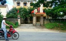 Trụ sở Ban quản lí rừng phòng hộ huyện Tuyên Hóa, nơi ông Sơn làm việc