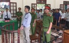 Bị cáo Thông tại phiên xử sơ thẩm. Ảnh: Lam Sơn.