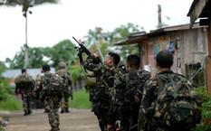 Binh sĩ quân đội Philippines tham gia chiến dịch tiêu diệt nhóm phiến quân Maute.