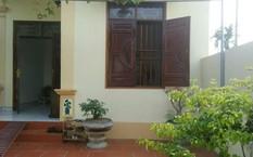 Ngôi nhà nơi nghi phạm nổ súng bắn chị Bùi Thị Thu bị trọng thương