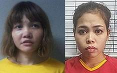 Đoàn Thị Hương (trái) và Siti Aisyah. Ảnh: Reuters.