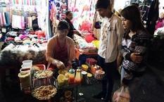 Một góc Chợ đêm Đà Lạt.