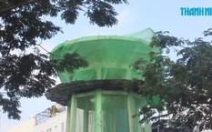 Lấy mặt bằng 7 thủy đài làm nhà giữ xe ở TP HCM