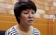 Chị Vũ Thanh Hoa-người đã có bài viết trên mạng xã hội về việc đi xin giấy chứng tử ở phường Văn Miếu.