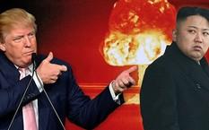 Hai nhà lãnh đạo Mỹ và Triều Tiên.