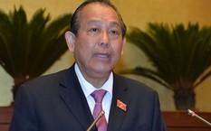 Phó thủ tướng Trương Hoà Bình.