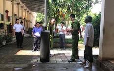 Bình gas nơi nghi bị rò dẫn tới vụ cháy đang được nhà chức trách khám nghiệm.