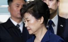 Cựu tổng thống bị phế truất Park Geun Hye. Ảnh: AP.