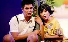 Ngọc Trinh trong một vở diễn chị đầu tư dựng tại Nhà hát kịch TP HCM.