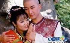 Châu Kiệt và Lâm Tâm Như trong Hoàn Châu cách cách.