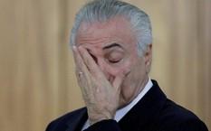 Tổng thống Brazil Michel Temer - Ảnh: Reuters