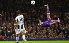Pha móc bóng của Ronaldo trong trận chung kết Champions League 2016-17. (Nguồn: Getty)