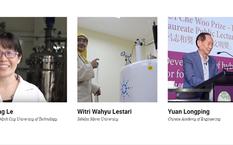 Bà Lê Thị Kim Phụng là nhà khoa học duy nhất của Việt Nam lọt top 100 nhà khoa học hàng đầu châu Á. Ảnh chụp màn hình Asian Scientist