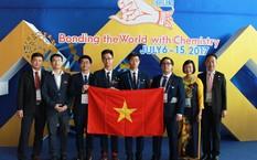 4 học sinh Việt Nam tham dự Olympic Hóa học quốc tế 2017.