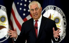 Vai trò của ông Rex Tillerson ngày càng mờ nhạt. Ảnh: Reuters.