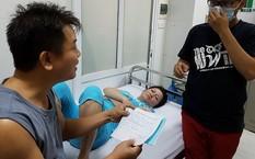 Chị Cầu bị sốt cao ngày thứ 4, xin nhập viện nhưng chưa được.