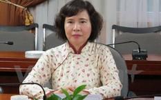Thứ trưởng Hồ Thị Kim Thoa.