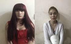 Bộ đôi giả gái bị bắt giữ tại cơ quan công an