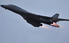 Máy bay ném bom chiến lược B-1B (Ảnh: AFP0).