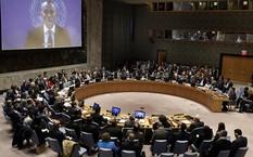 Hội đồng Bảo an Liên Hợp Quốc nghe bài phát biểu của đặc phái viên của LHQ tại Trung Đông Nickolay Mladenov. Ảnh: AP