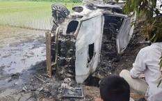 Vụ đốt xe Fortuner ở Hải Dương: Chủ xe là người có nhân thân tốt