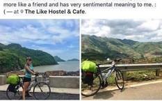 Công an Quận 1 đã tìm ra chiếc xe đạp cho nữ du khách nước ngoài