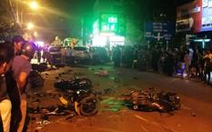 Tài xế phóng nhanh, lấn làn gây tai nạn liên hoàn khiến 2 người tử vong