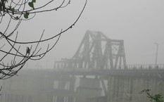Xuất hiện sương mù vào sáng sớm ở miền Bắc