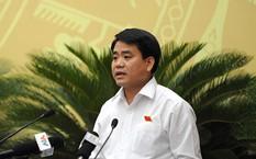 Ông Nguyễn Đức Chung, Chủ tịch TP Hà Nội. Ảnh: Thanh Niên
