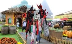 """Halloween """"chất hơn nước cất"""" tại Sun World Ba Na Hills"""