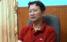 Bị can Trịnh Xuân Thanh. Ảnh: VTV.