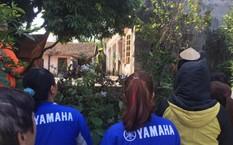 Căn nhà nơi phát hiện thi thể nạn nhân.