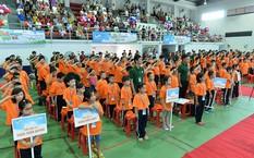Khai mạc Trại hè - Viettel Vui Vẻ tại  khu thể thao 5 sao