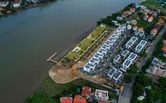 Chủ đầu tư TDS buộc phải trả lại hành lang cho dòng sông Sài Gòn. Ảnh: Đ.D