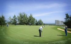 Sân 36 hố FLC Quy Nhon Golf Links, một trong những sân golf mới đẹp nhất châu Á.