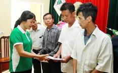 Vinamilk hỗ trợ người dân vùng lũ tại Hà Nội