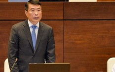 Thống đốc Lê Minh Hưng. (Ảnh: Việt Hưng).