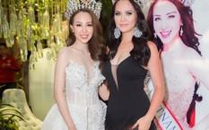 Bảo Ngọc và Hoa hậu Đại sứ Bùi Uyên Vi